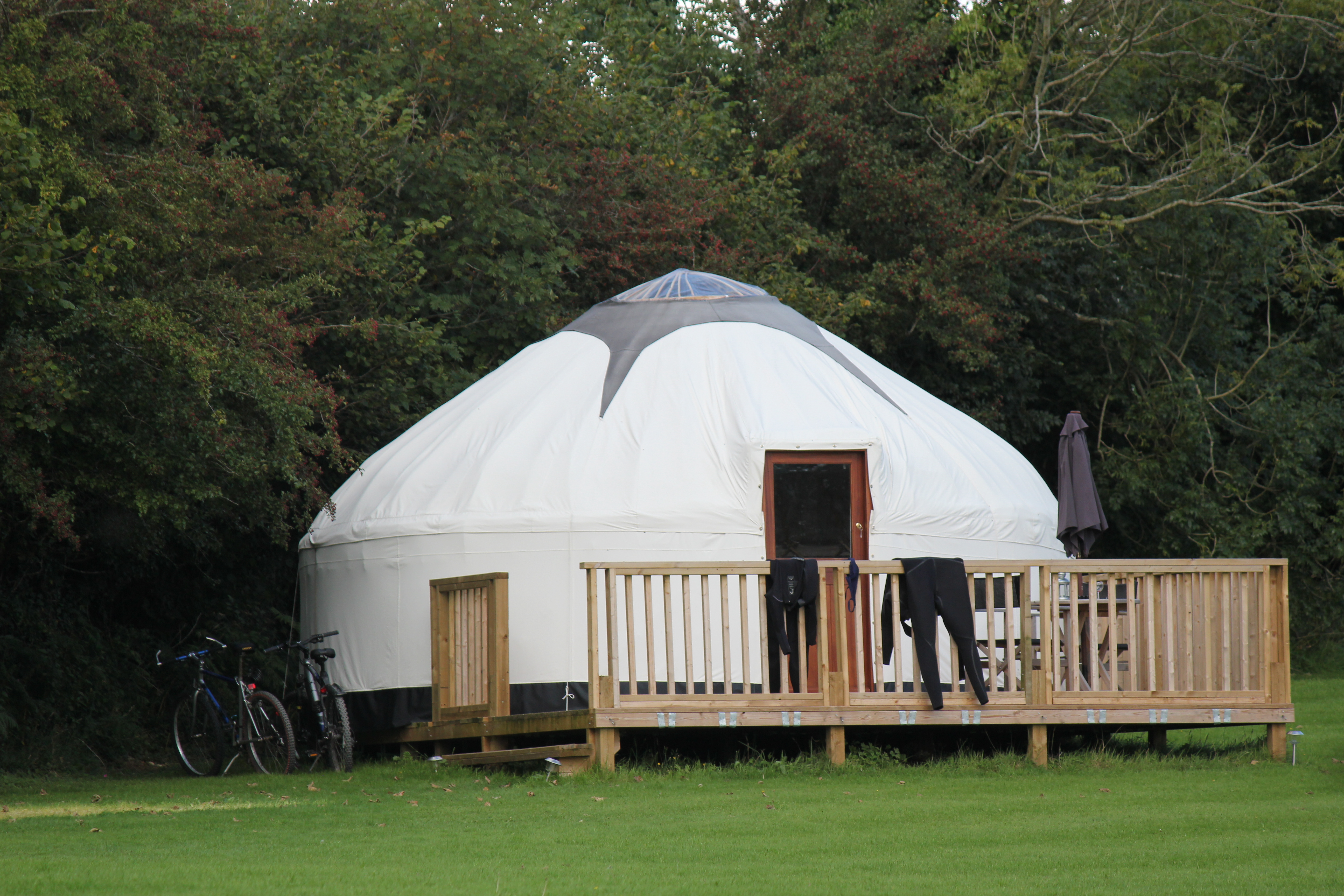 Luxury Glamping in comfortable Yurts in Cornwall  Real beds